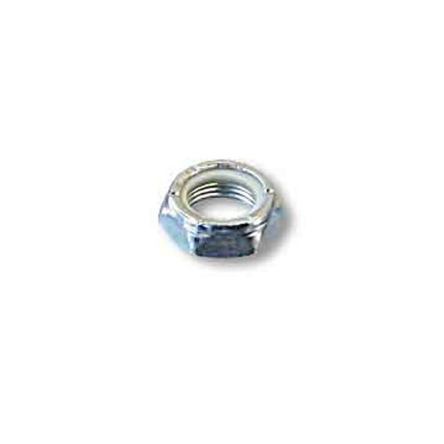 Locknut, 1/4-20 Thin, Nylon Insert, Zinc Plated