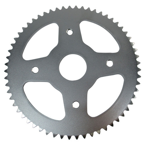 """60 Tooth Steel Sprocket 35 Chain, 1-1/2"""" Bore, 4 Holes, 4"""" Bolt Circle"""