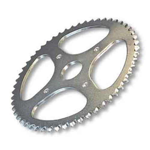"""72 Tooth Steel Sprocket - 35 Chain, 2"""" Bore, 4 Holes, 4"""" Bolt Circle"""