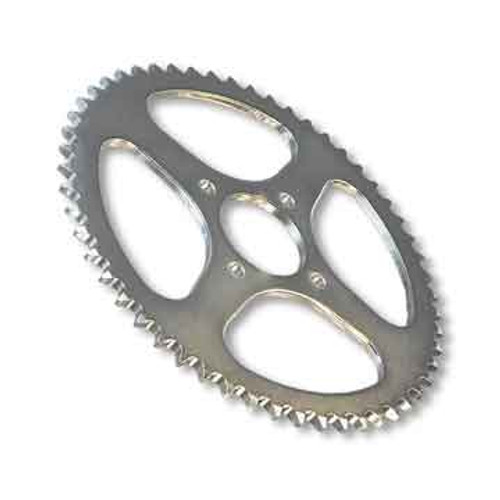 """66 Tooth Steel Sprocket 35 Chain, 2"""" Bore, 4 Holes, 2.875"""" Bolt Circle"""
