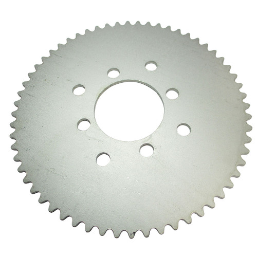 """60 Tooth Steel Sprocket 35 Chain, 2.125"""" Bore, Dual 4 Hole Pattern"""