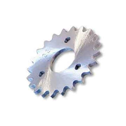 "21 Tooth Sprocket, Aluminum, #35 Chain, P5256 - 1"" Bore, 1.687"" Bolt Circle"