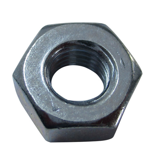 Hex Nut, 1/4-28, Zinc Plated