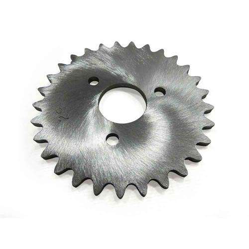 "29 Tooth Sprocket, Aluminum, #35 Chain, P5256 - 1"" Bore, 1.687"" Bolt Circle"