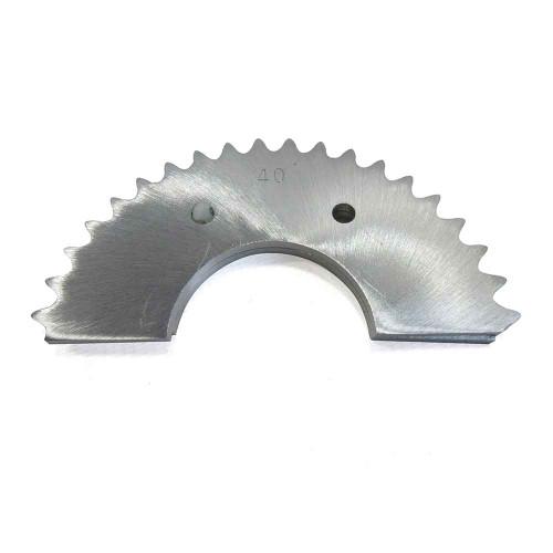 40 Tooth Mini-Sprocket, TNT (Tuf-N-Tru), .160 Aluminum, 35 Chain