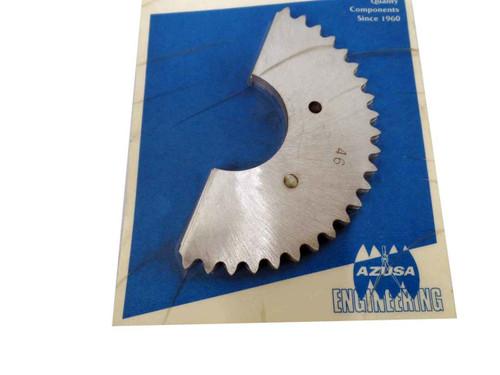46 Tooth Mini-Sprocket, TNT (Tuf-N-Tru), .160 Aluminum, 35 Chain