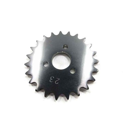 "23 Tooth Engine Sprocket, Aluminum, 40 Chain 1"" Bore, 1.680"" Bolt Circle"