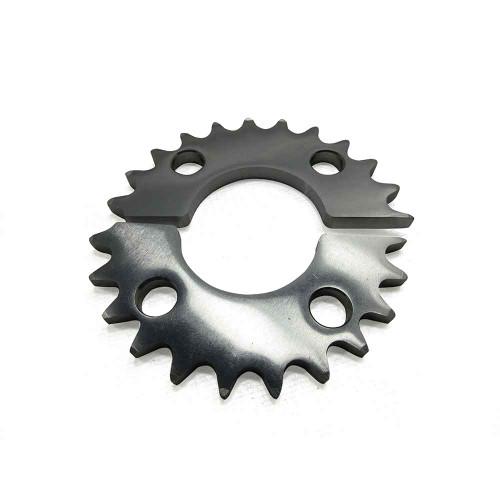 "23 Tooth Axle Sprocket, Aluminum, 40 Chain 1.75"" Bore, 2.75"" Bolt Circle"