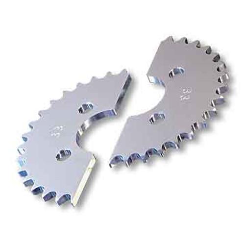 "27 Tooth Axle Sprocket, Aluminum, 40 Chain 1.75"" Bore, 2.75"" Bolt Circle"