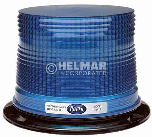 4243B Preco Double Flash Blue Strobe Light, 12-48V