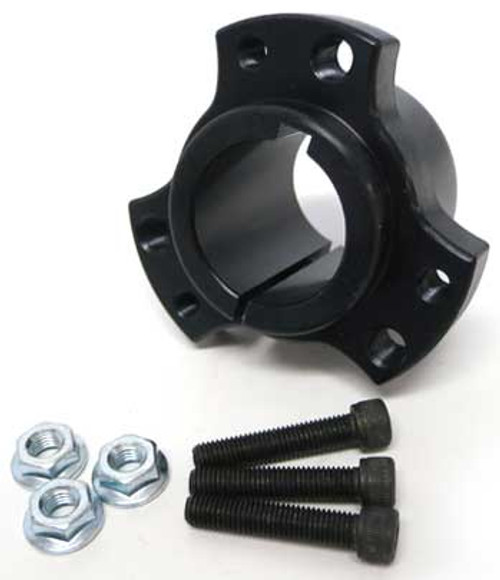 "1-1/4"" Rear Wheel Hub (Black)"