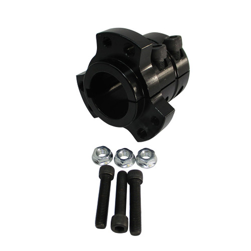 "1-1/4""Extended Rear Wheel Hub - Black"
