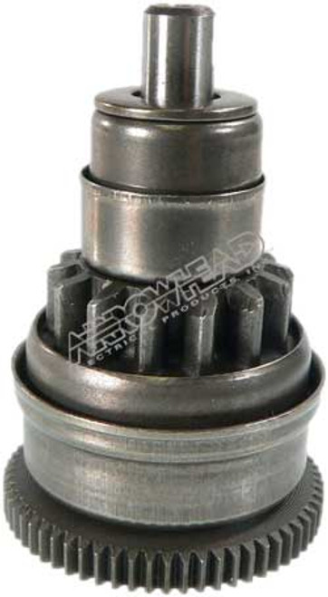 Drive 14-Tooth, CW, 62-Tooth Drive Gear, for Mitsuba Starters