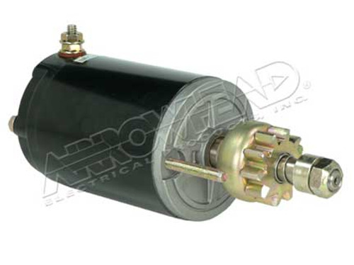 Starter for Chrysler and Force12-Volt, CCW, 10-Tooth