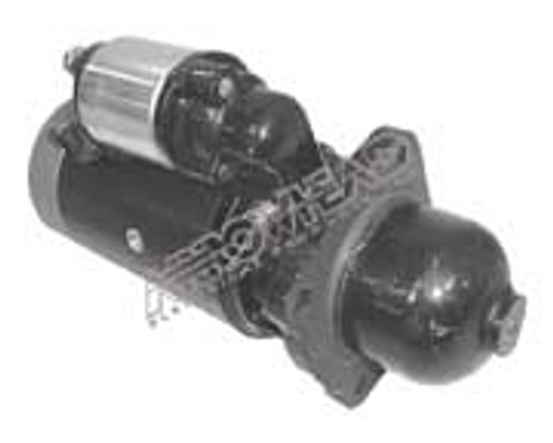 Starter for Agricultural, Industrial and Marine Applications DD, 12-Volt, CW, 9-Tooth