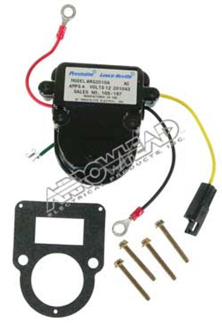 Voltage Regulator 12-Volt, B-Circuit, for Motorola Alternators AMO6025