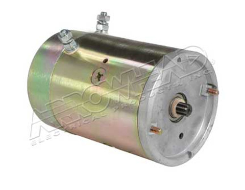 DC Motors for Fenner Fluid Power, Prime Mover, 12-Volt, CW, 9 Spline