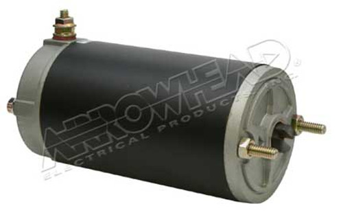 DC Motor for Meyer, 3 Snow Plow Motor, 12-Volt, CCW, with 3/16 Slot