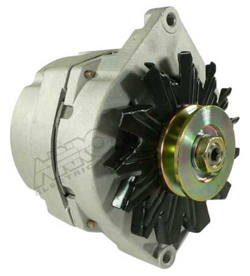 Alternator for 15SI-Type 116 Series, 12-Volt, 105 AMP, 3-Terminal Plug