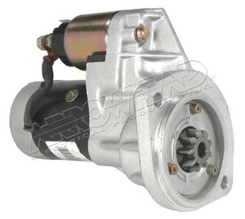 Starter for Nissan Trucks, OSGR, 12-Volt, CW, 9-Tooth