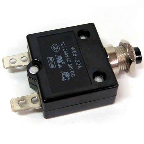 Generac 0H0265C Circuit Breaker 20 Amp 1P CUL/CSA