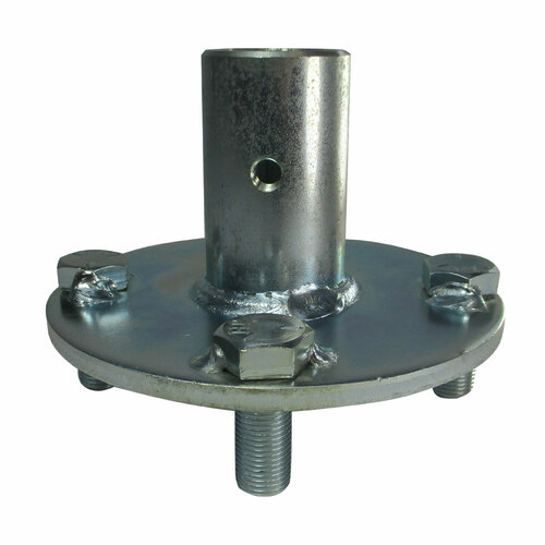 """1"""" Zinc Plated Steel Hub for Live Axle 3/4 Step"""