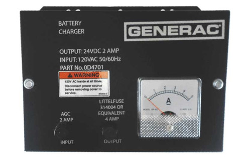 Generac 0D4701 Battery Charger 24V 2A