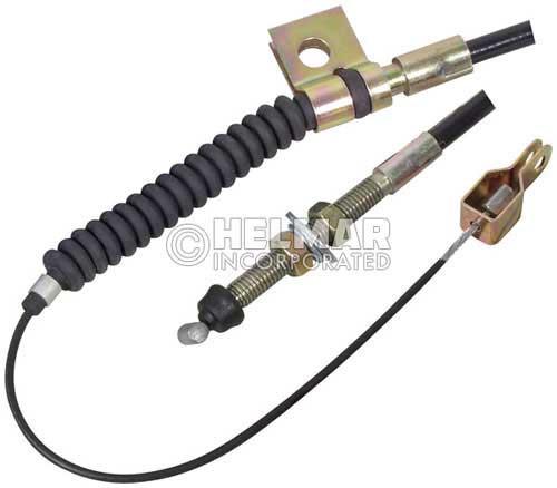 "8761637 Komatsu Kalmar AC Accelerator Cable 52-3/4"" Long"