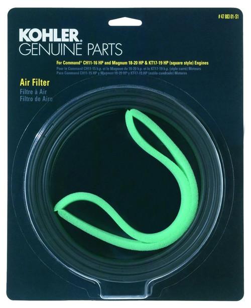 Genuine Kohler 47 883 01-S1 Air Filter Kit