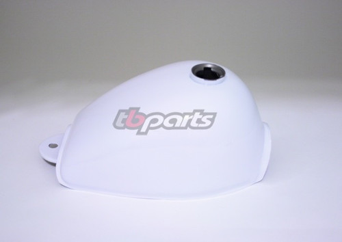 Gas Tank - AFT - White - All Models