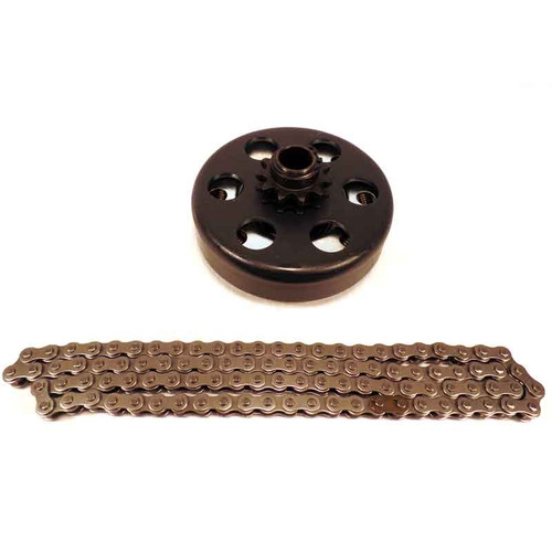 """5/8"""" Clutch 11 Tooth & 3' #35 Chain"""