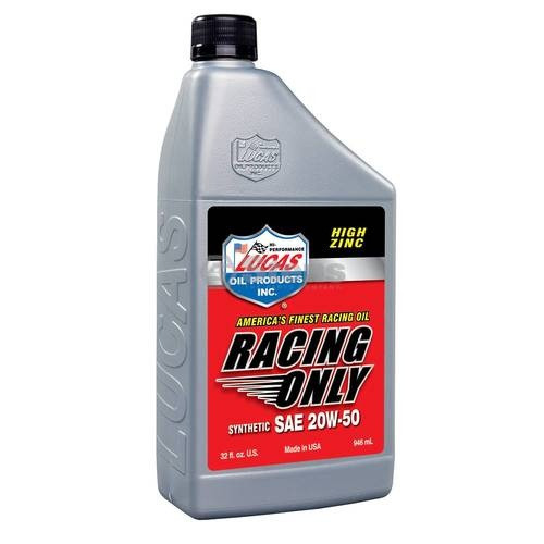 OEM High Performance Racing Only Synthetic Oil / SAE 20W-50, Qt Btls, Case Of 6