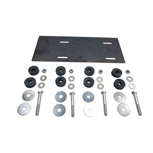 """Deluxe Engine Mounting Kit w/ 5"""" x 12"""" Plate"""