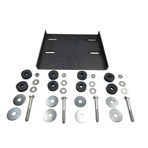 """Predator Deluxe Mounting Kit w/ 7-3/4"""" x 8-3/4"""" Plate"""