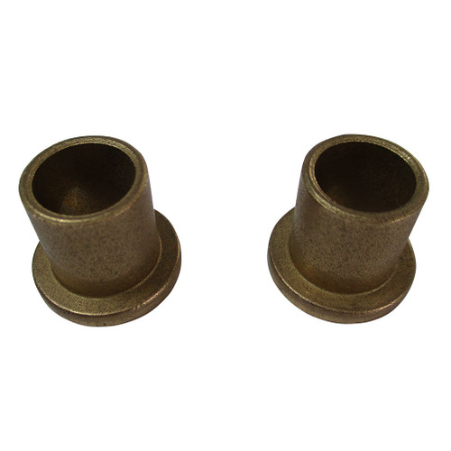 "Set of (2) 1/2"" x 5/8"" Bronze Flanged Sleeved Bushings"