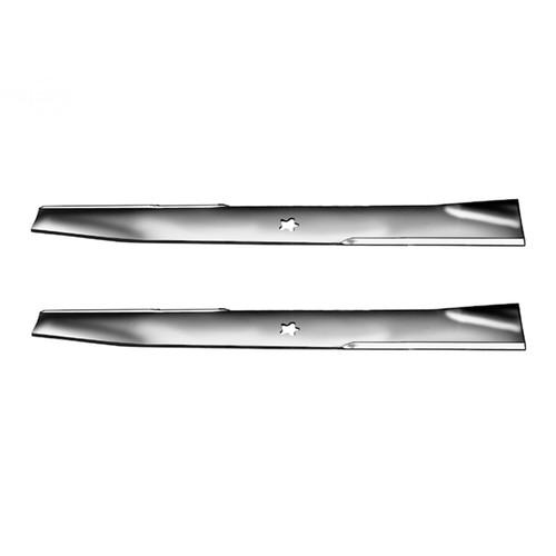 "Set Of (2) Ayp 23"" 5 Point Star Blades Replaces: AYP/ROPER/SEARS 403107  AYP/ROPER/SEARS 532403107"