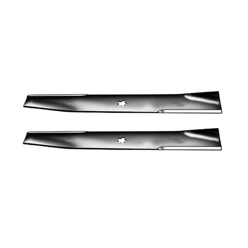 "Set Of (2) Blades Ayp 19""X 5 Point Star Heavy Duty Replaces: AYP/ROPER/SEARS 131322  AYP/ROPER/SEARS 138497"