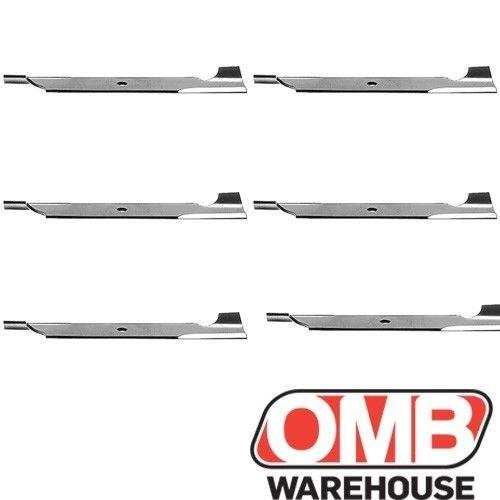 "(6) Blades 20-1/2 x 15/16"" Replaces Exmark 103-6403 Oregon 92-031"
