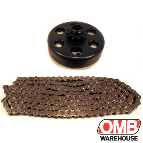Baja Centrifugal Clutch 16MM 11 Tooth 35 + 5 Feet of Chain