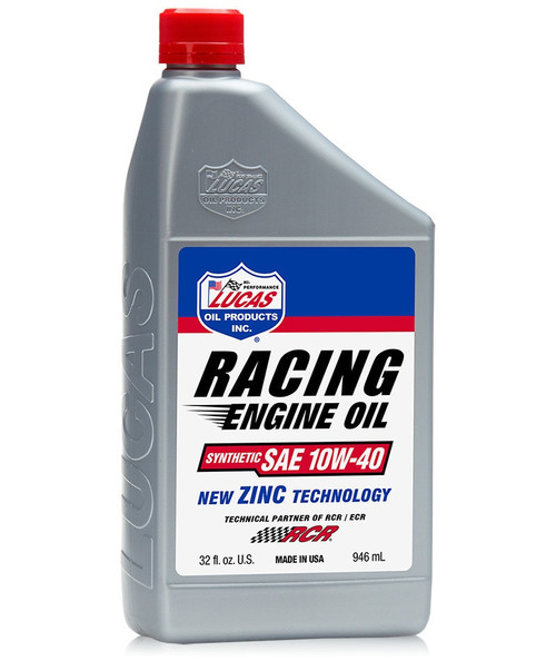 Lucas Racing Only Motor Oil - SAE 10W-40 (55 Gallon Drum)