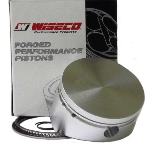 """17-3028 Wiseco Piston Unchromed 3.028"""" w/Rings,No Pin"""