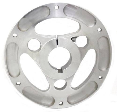 "Aluminum Sprocket/Rotor Hub 1-1/4"" axle"