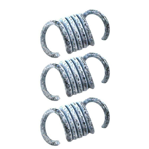 Set of (3) White Noram Clutch Springs 1600 Enforcer Mini Cup Star