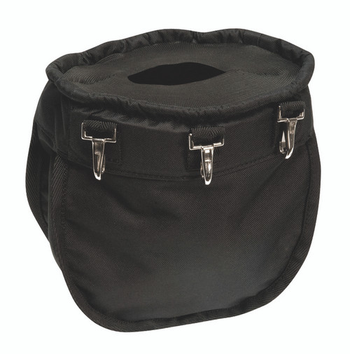 Weaver Leather Black Arborist Ditty Bag with Elastic Top and 3 Snaps