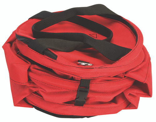 Weaver Leather Collapsible Deluxe Rope Bag,Rd