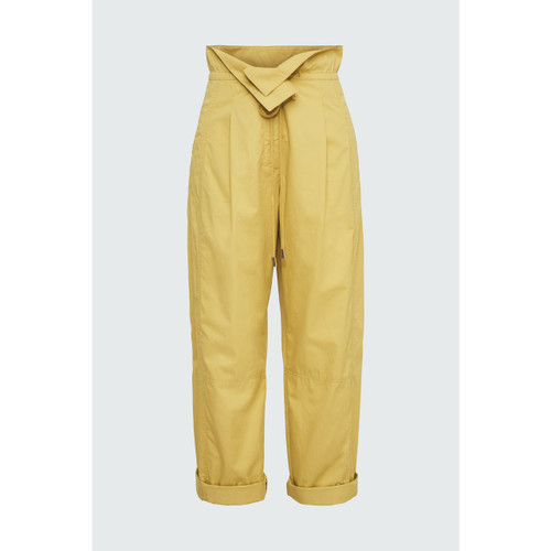 DOROTHEE SCHUMACHER PANT SPORTY POWER MILKY CURRY