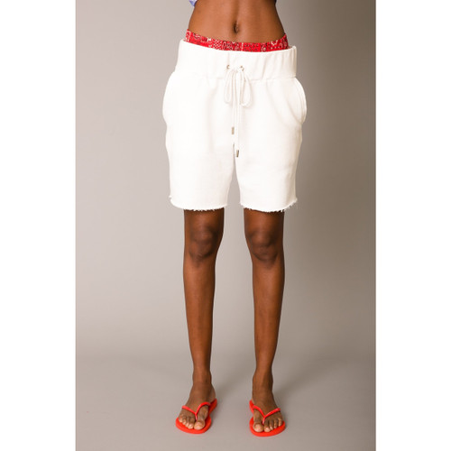 le superbe HANGING OUT BOXER SWEAT - OPTIC WHITE