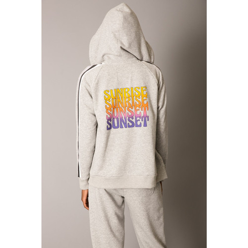 LE SUPERBE DAY OVER HOODIE - HEATHER GREY