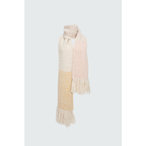 DOROTHEE SCHUMACHER COZY LAYER SCARF - COLORFUL STRIPES