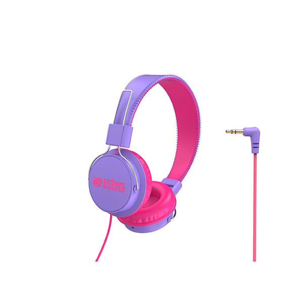 Verbatim Urban Sound Headphones Purple / Pink